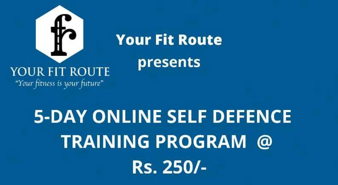 Your Fit Route 5-DAY online self defence training program