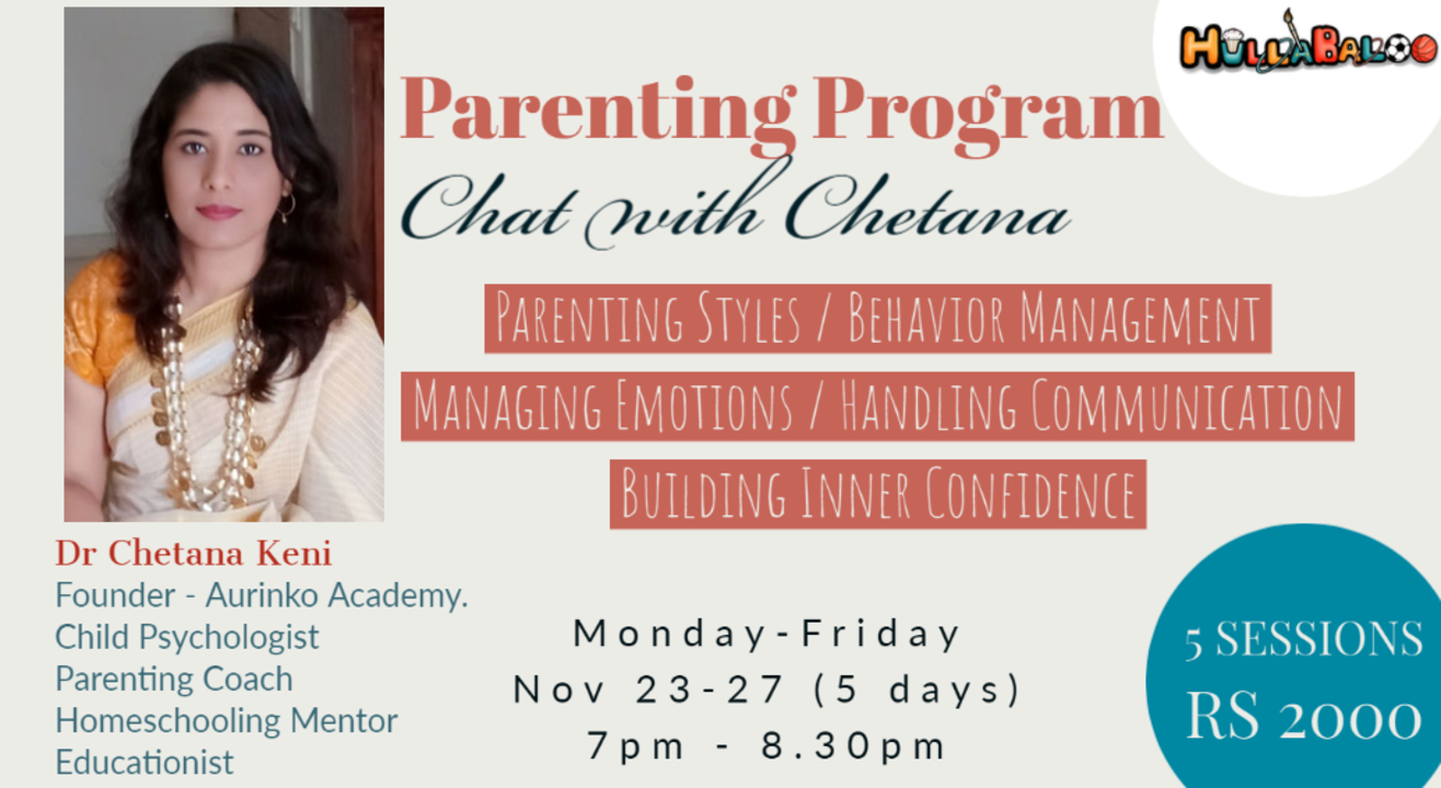 Parenting Program by Dr Chetana Keni