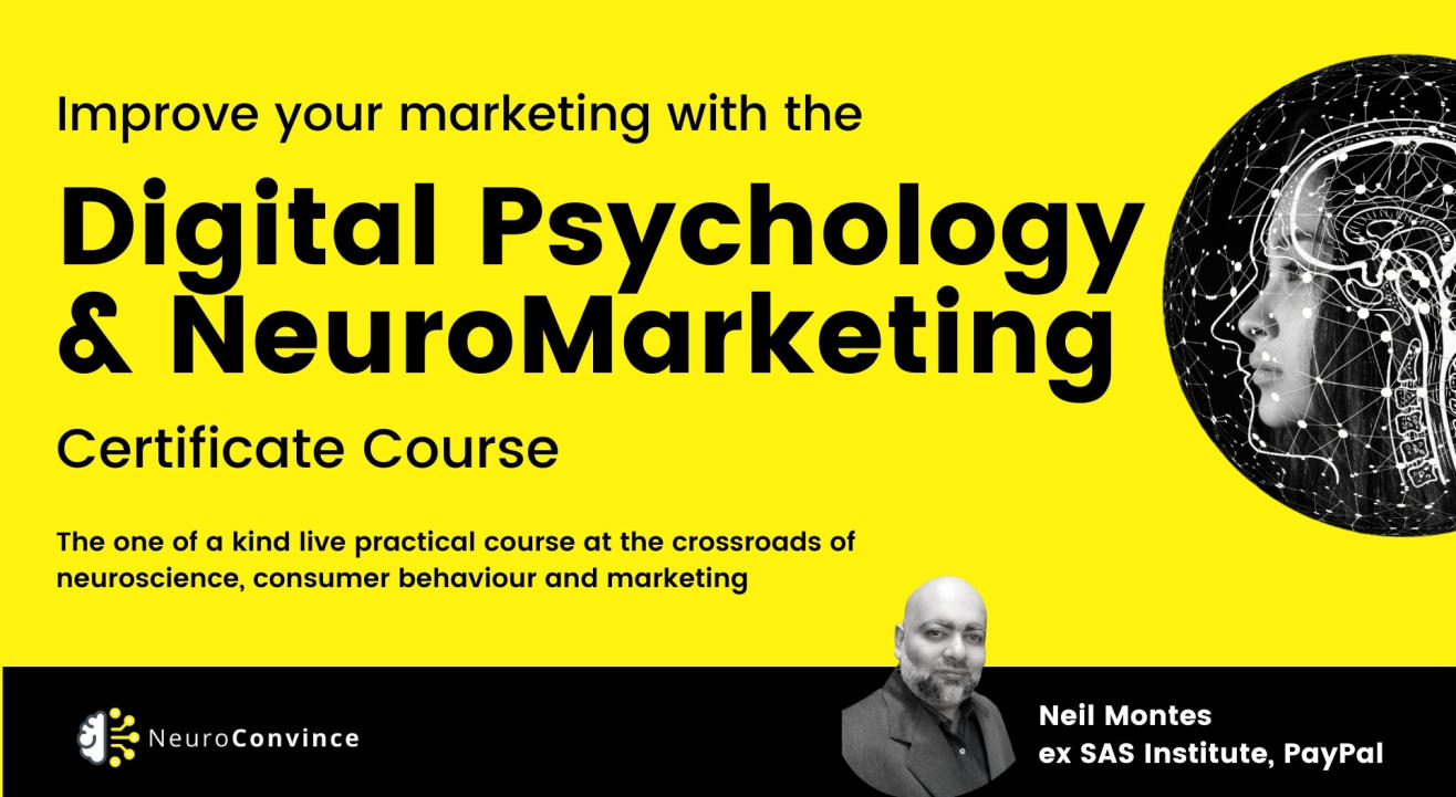 Digital Psychology and NeuroMarketing : Certificate Course
