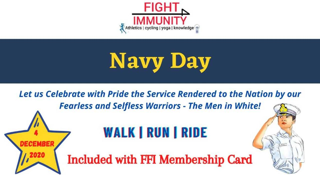 Navy Day - Walk/Run/Ride