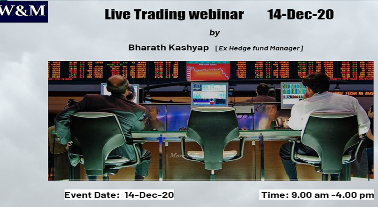 Live Trading -Nifty and USDINR