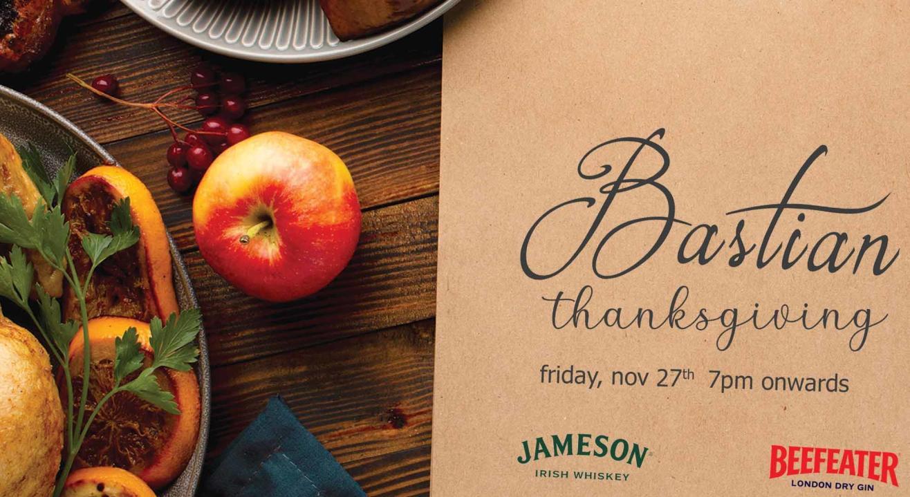 Thanksgiving Dinner at Bastian!