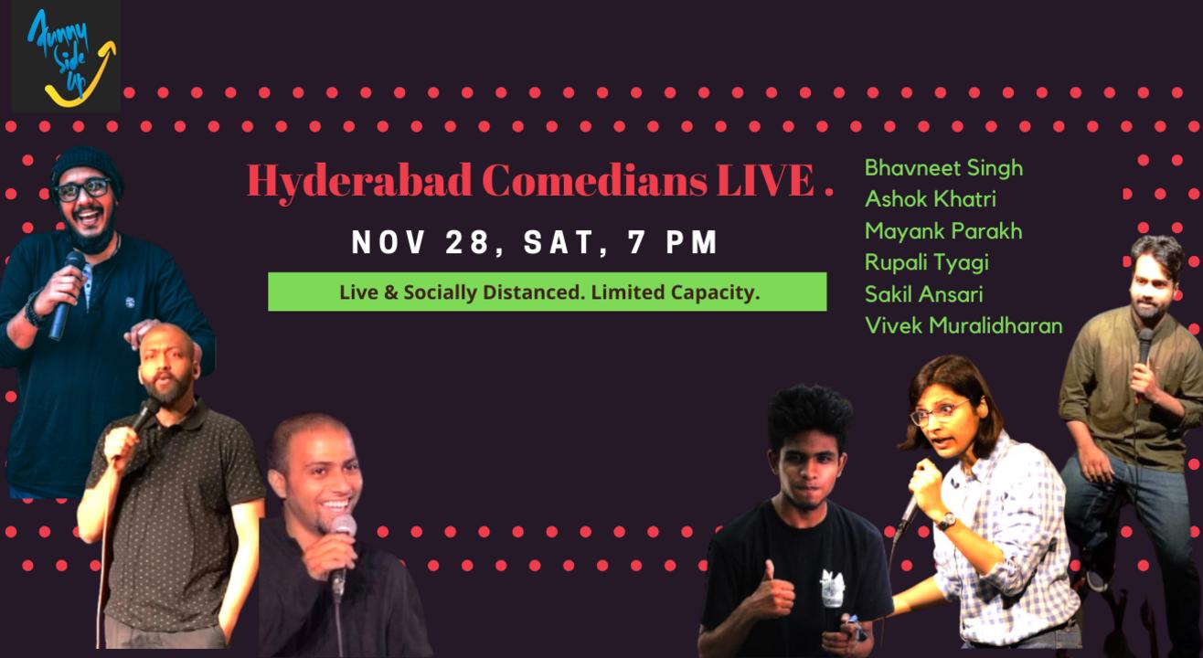 Hyderabad Comedians LIVE