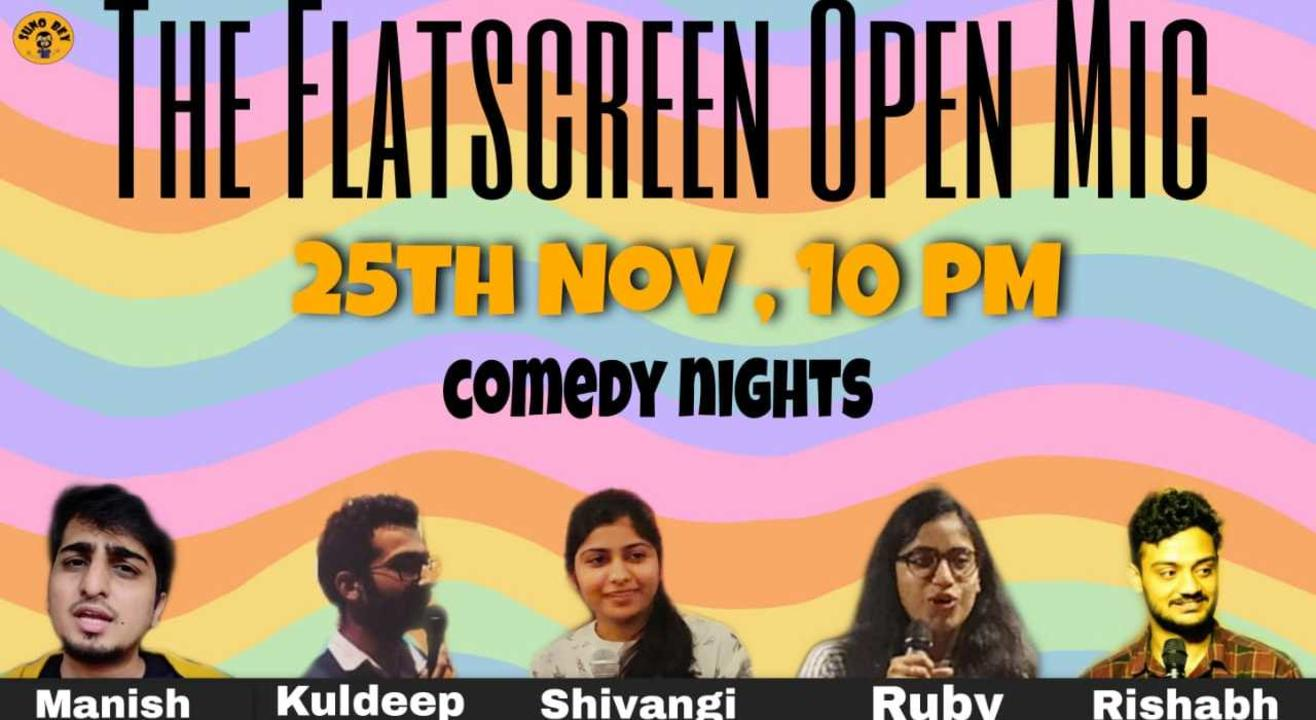 The Flatscreen Open Mic - A Stand-up Comedy Open Mic