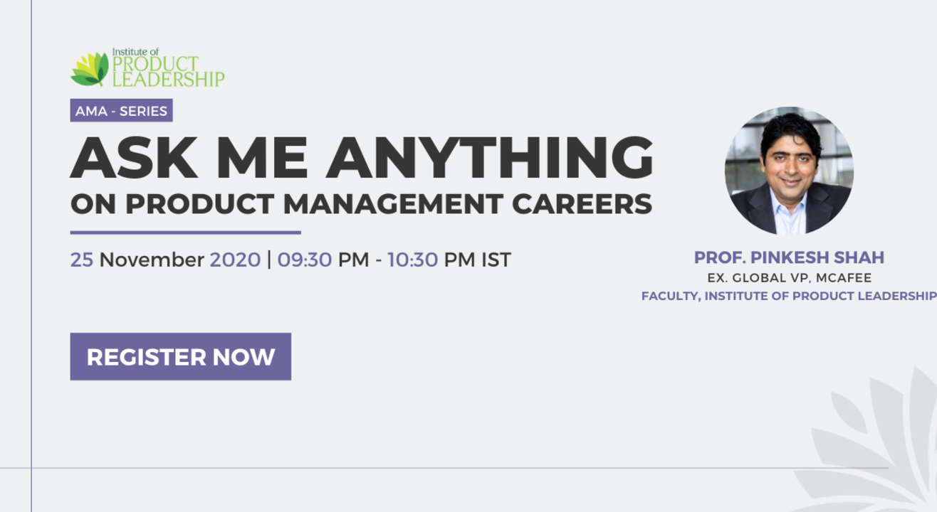ASK ME ANYTHING on PRODUCT MANAGEMENT CAREERS