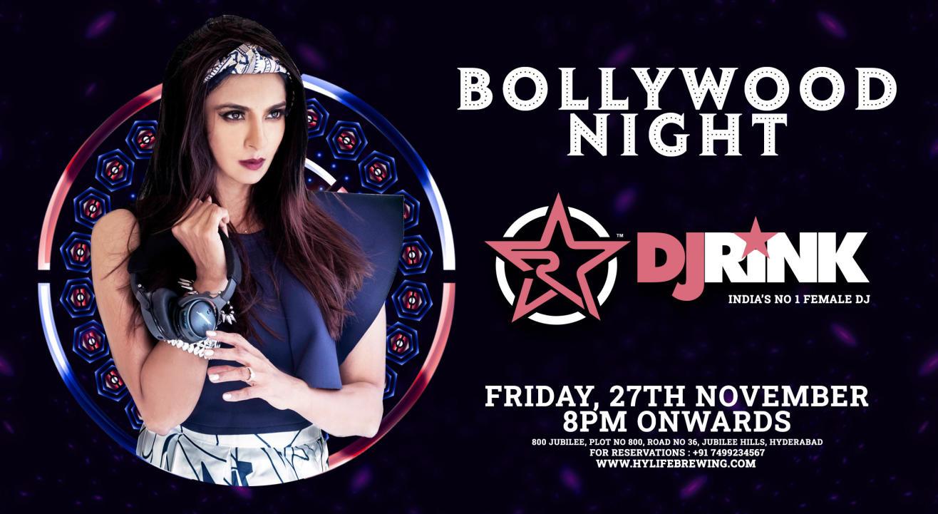 Bollywood Night w/DJ RINK