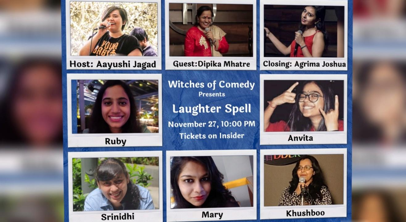 Witches Of Comedy Presents Laughter Spell