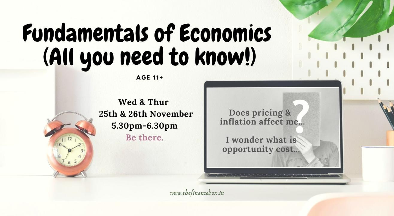 Fundamentals of Economics by The Finance Box