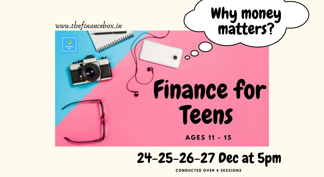 Finance for Teens by The Finance Box
