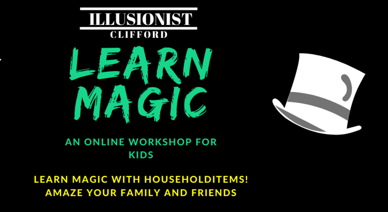 Learn Magic- Online Workshop for kids
