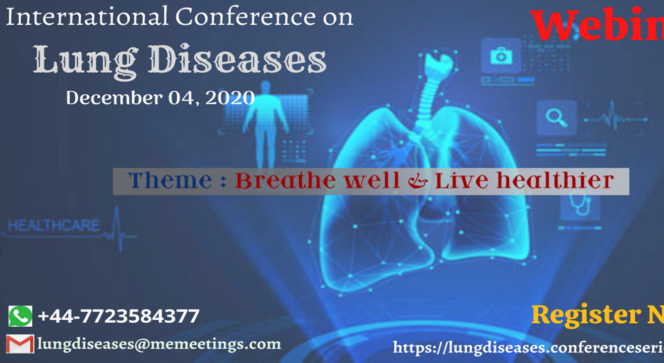 International conference on Lung Diseases 2020