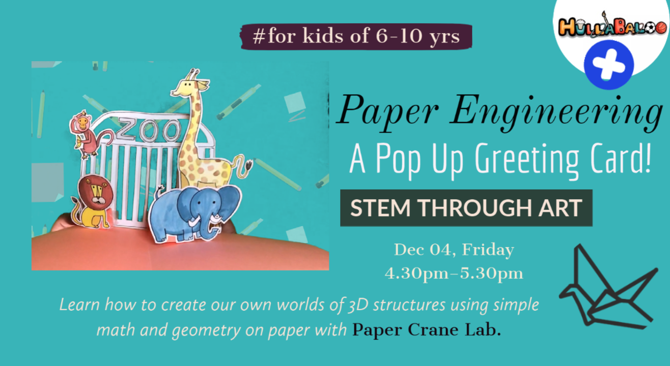 Make your own POP UP Greeting Card ( Stem & Paper Engineering)