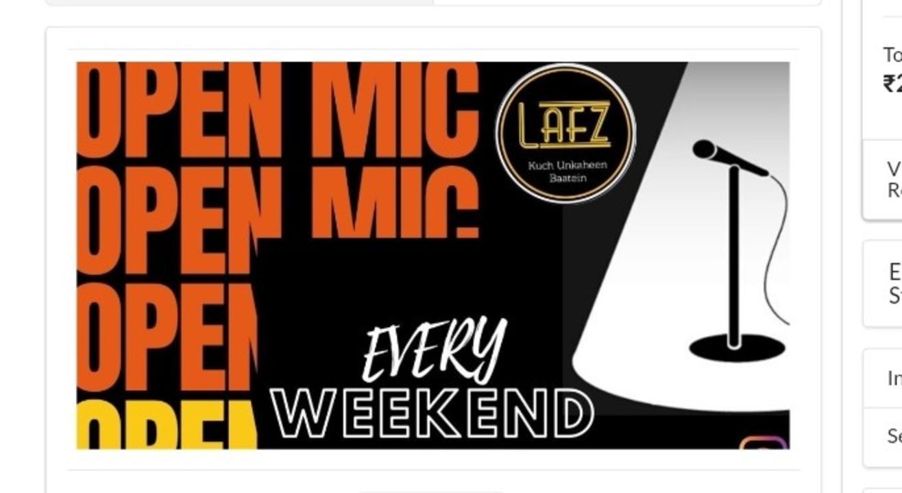 Open Mic | Lafz Entertainments