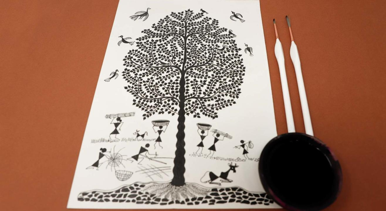 Warli Tree Of Life