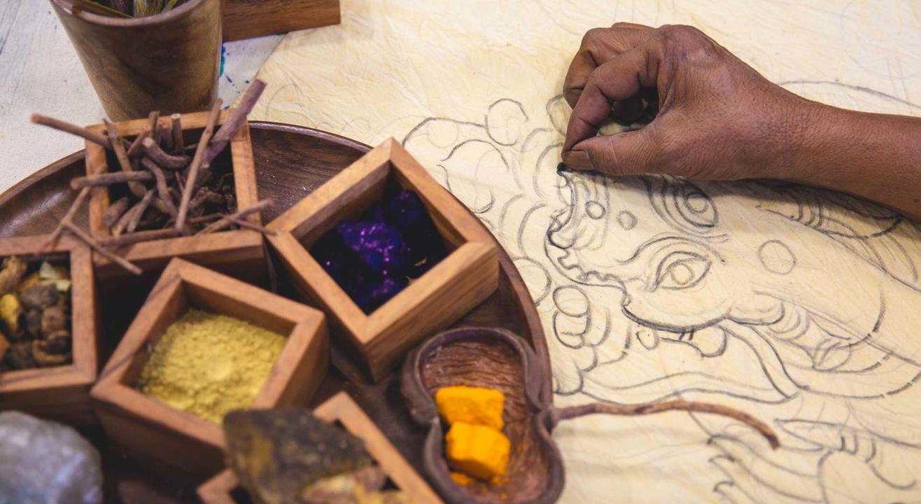 Kalamkari Artisans