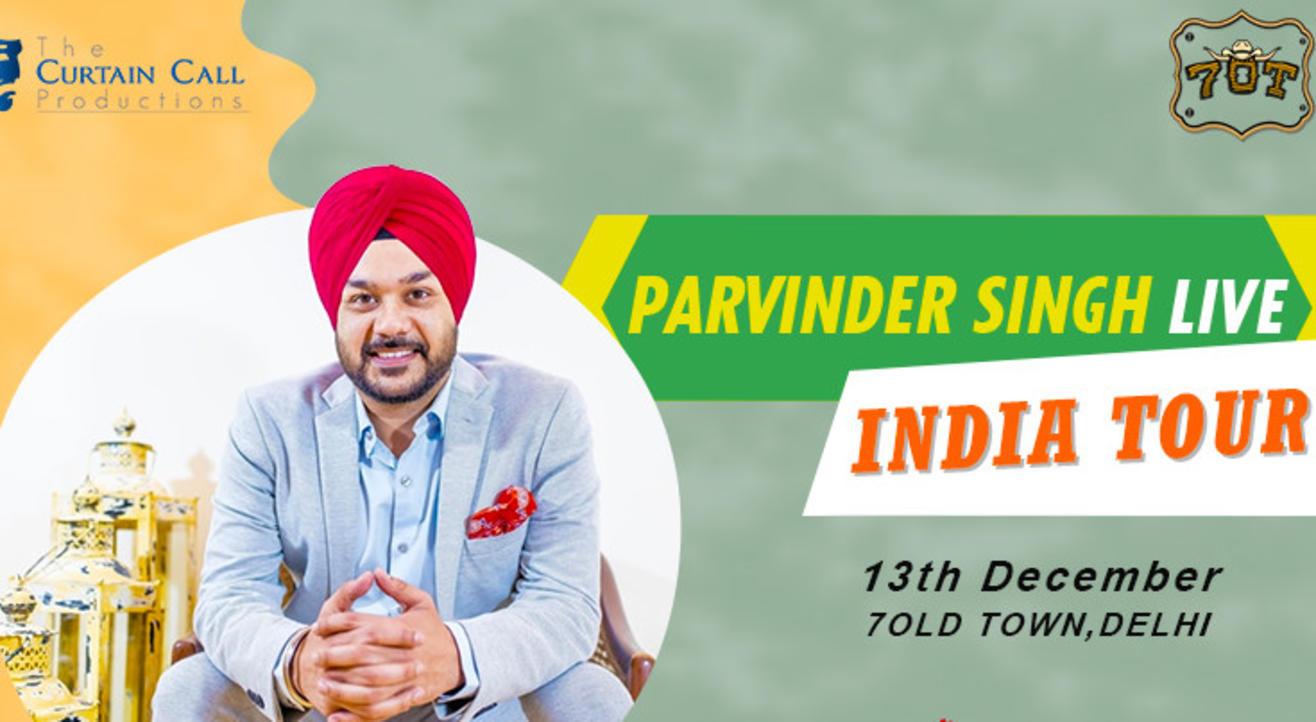 Parvinder Singh Live-Stand up Comedy