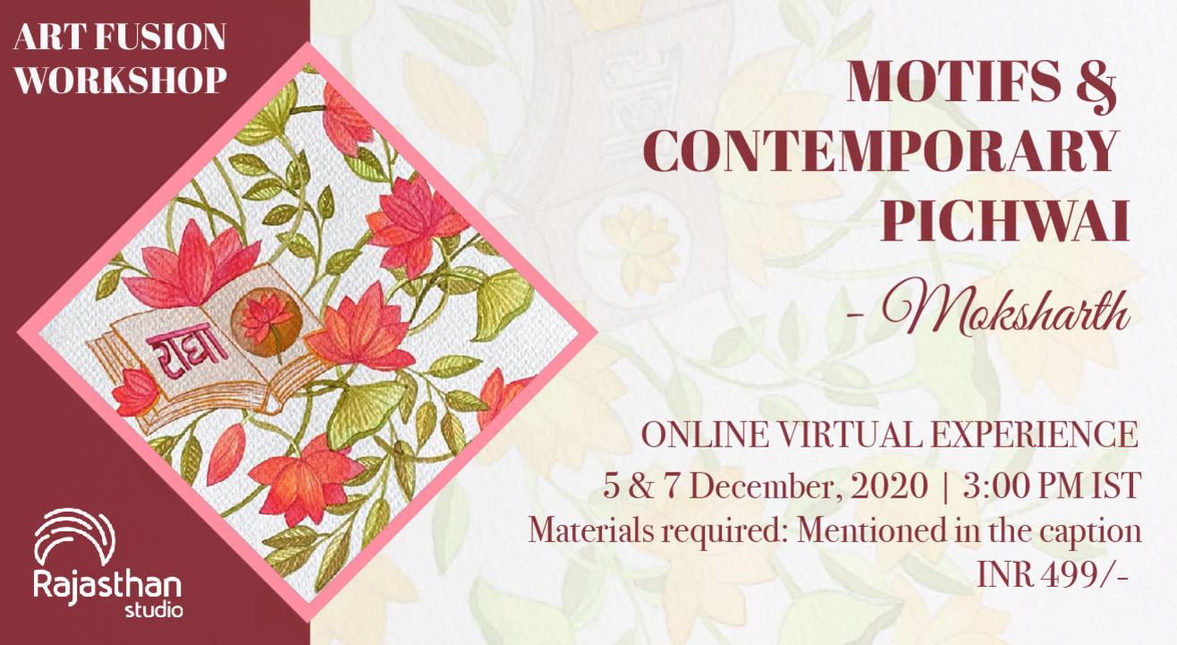 Motifs & Contemporary Pichwai Workshop by Rajasthan Studio