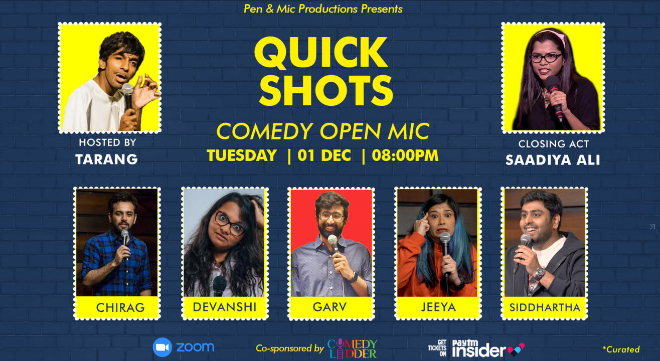 Quick Shots: Comedy Open Mic
