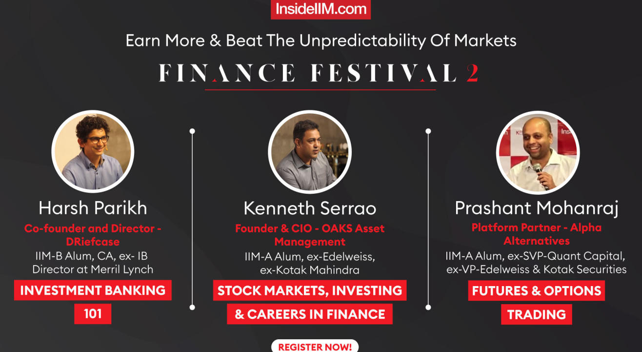 2nd InsideIIM Finance Festival