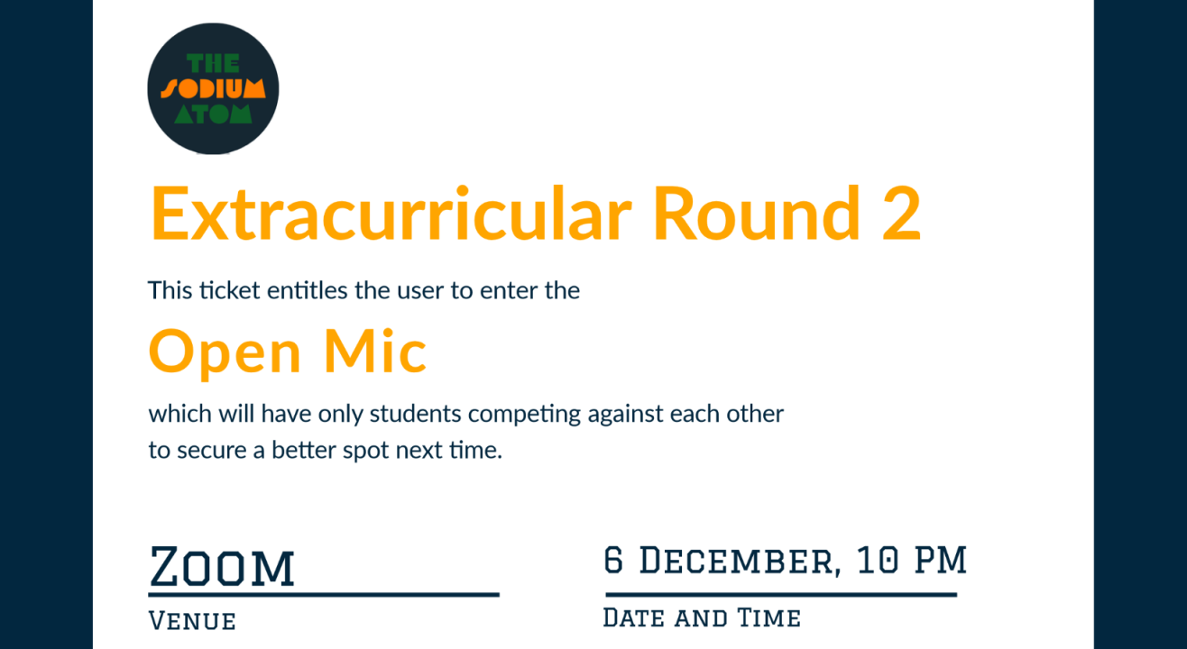 EXTRACURRICULAR: Round 2