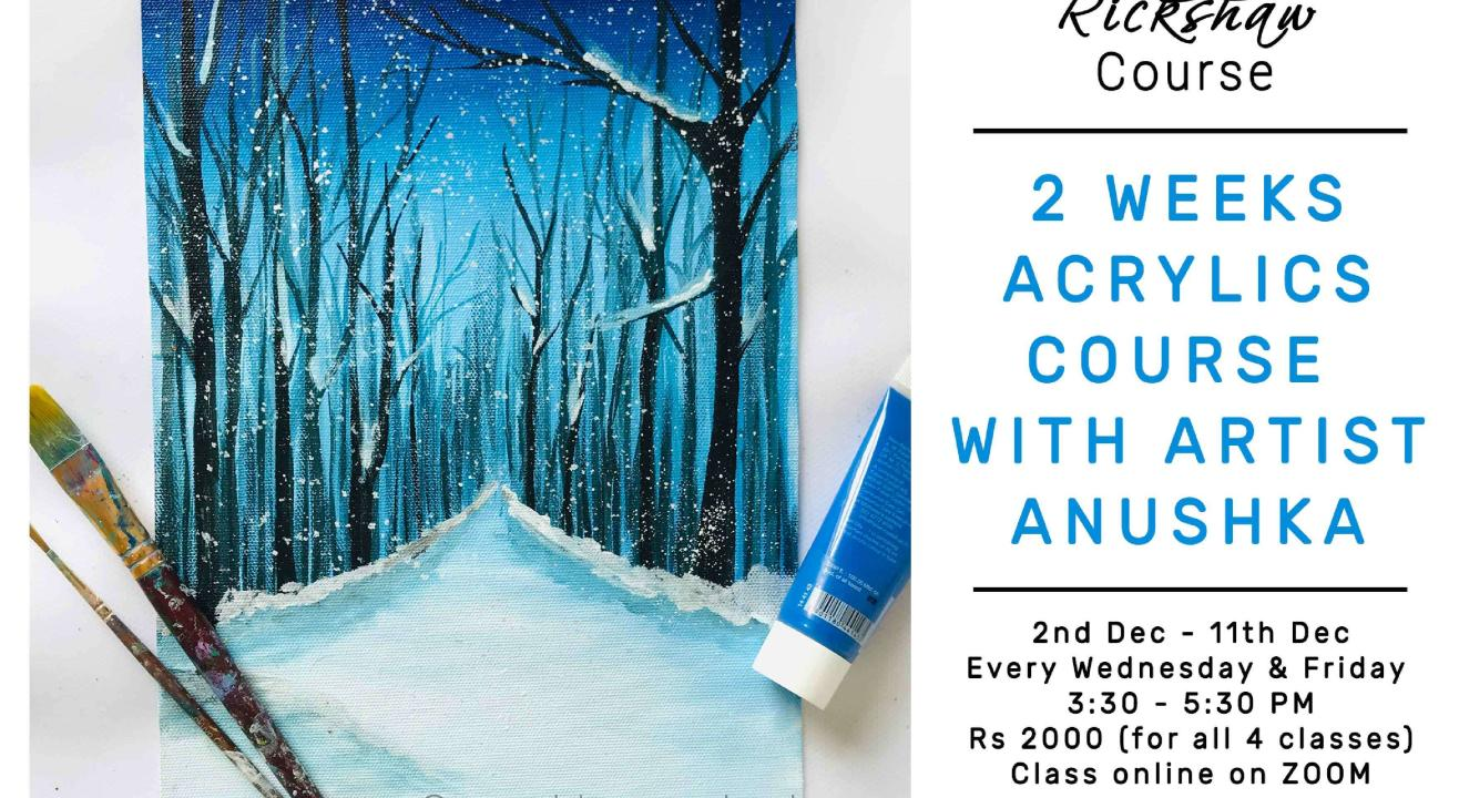 4 - Day Acrylic Painting Course with Anushka Nayak