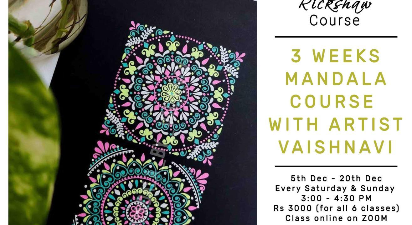 6 - Day Mandala Course with Vaishnavi