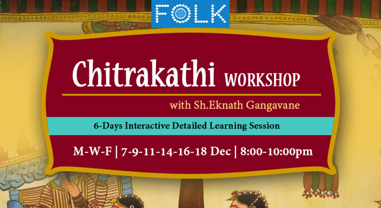 Chitrakathi Paintings Intensive 6-Days Online Workshop