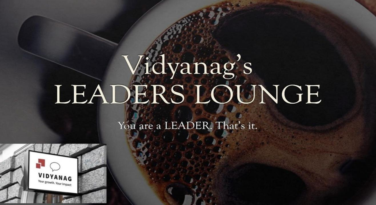 Vidyanag's LEADERS LOUNGE - #season 2