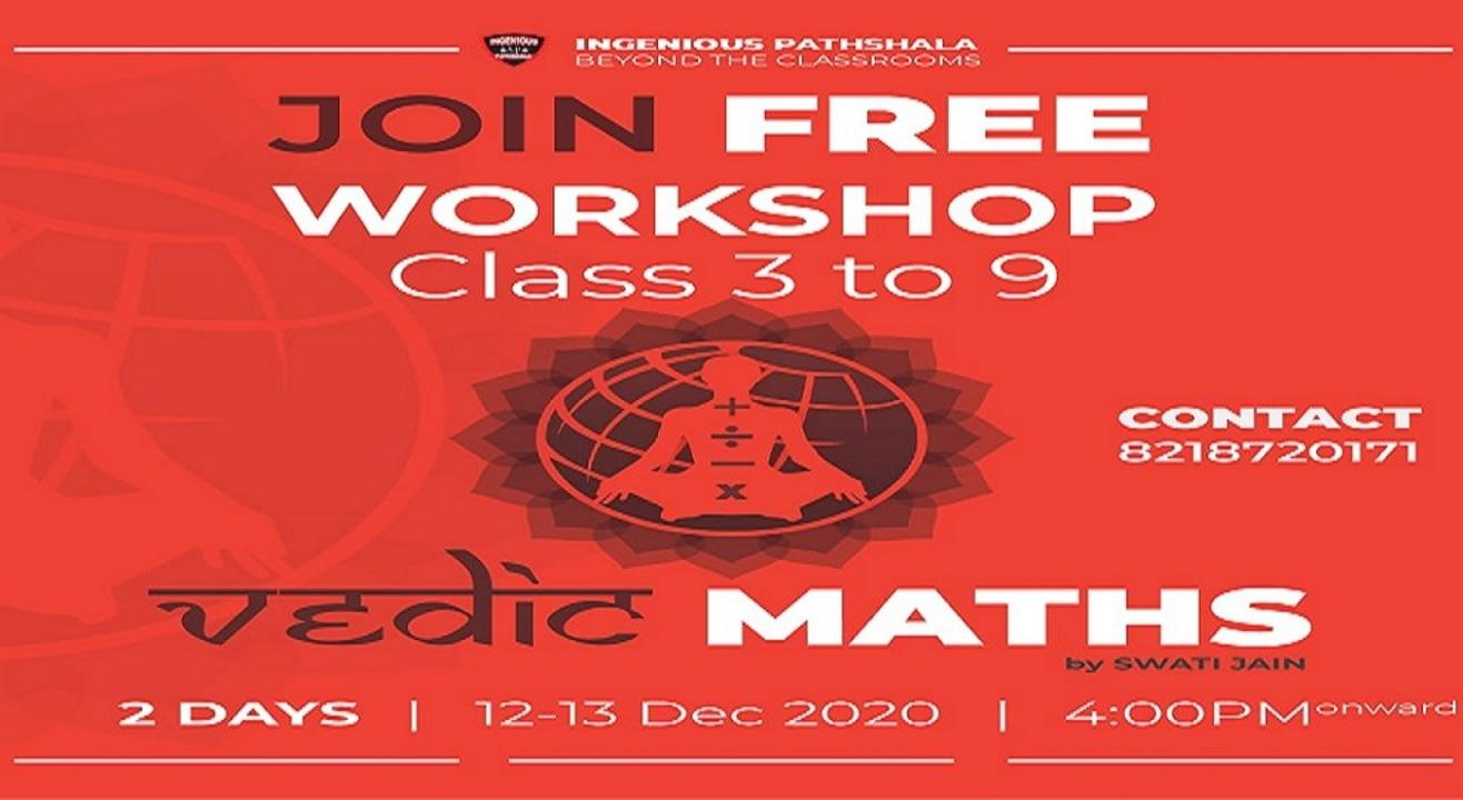 Free Vedic Maths Workshop