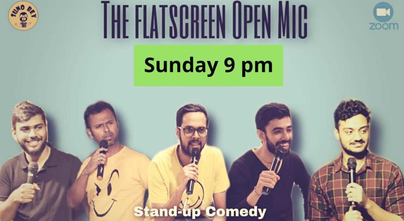 Comedy Nights| A Flat Screen Open Mic