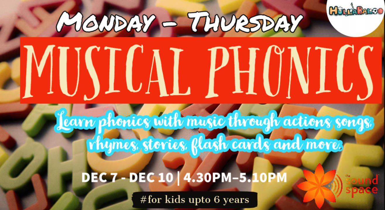 Musical Phonics Boot Camp for Children !