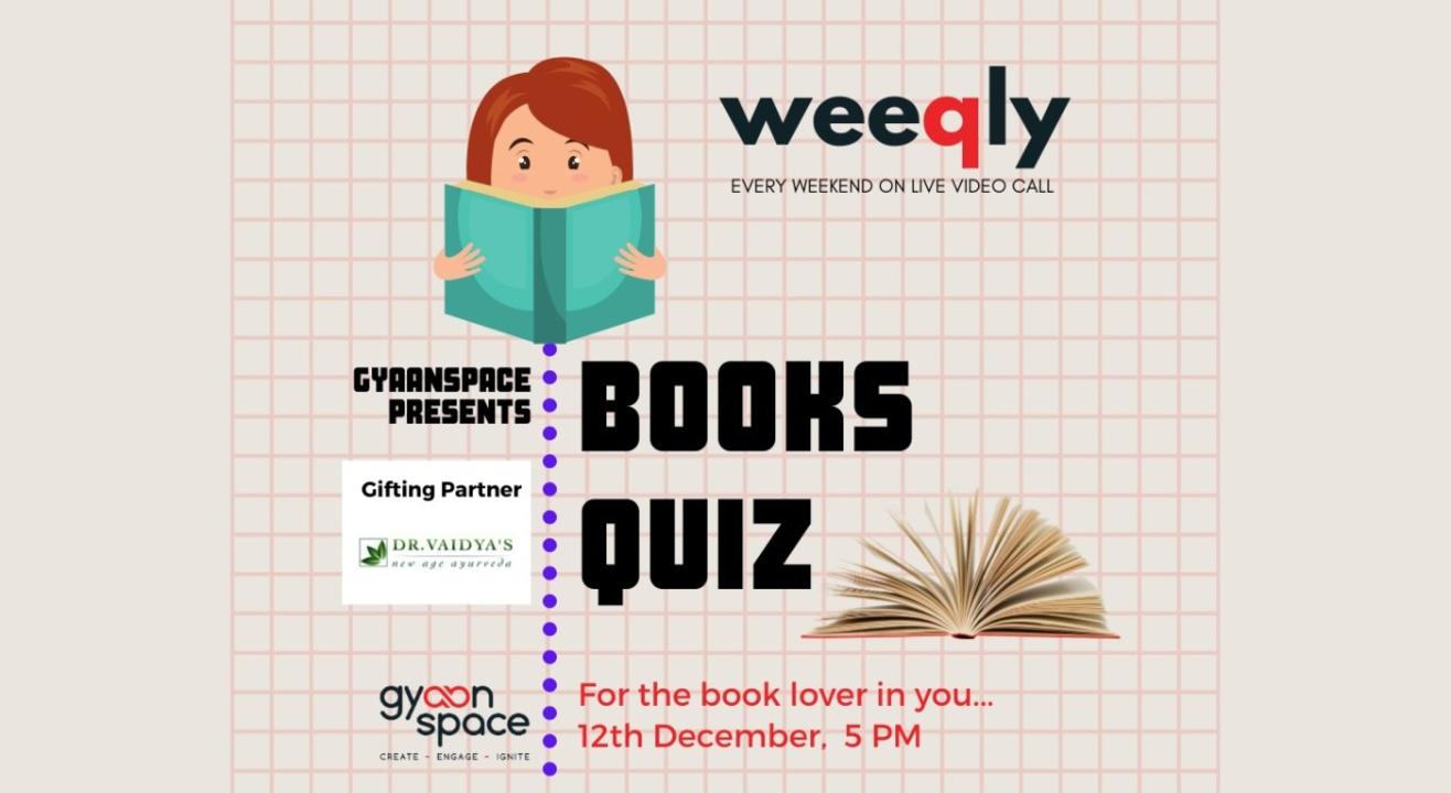 Books Quiz by Gyaanspace