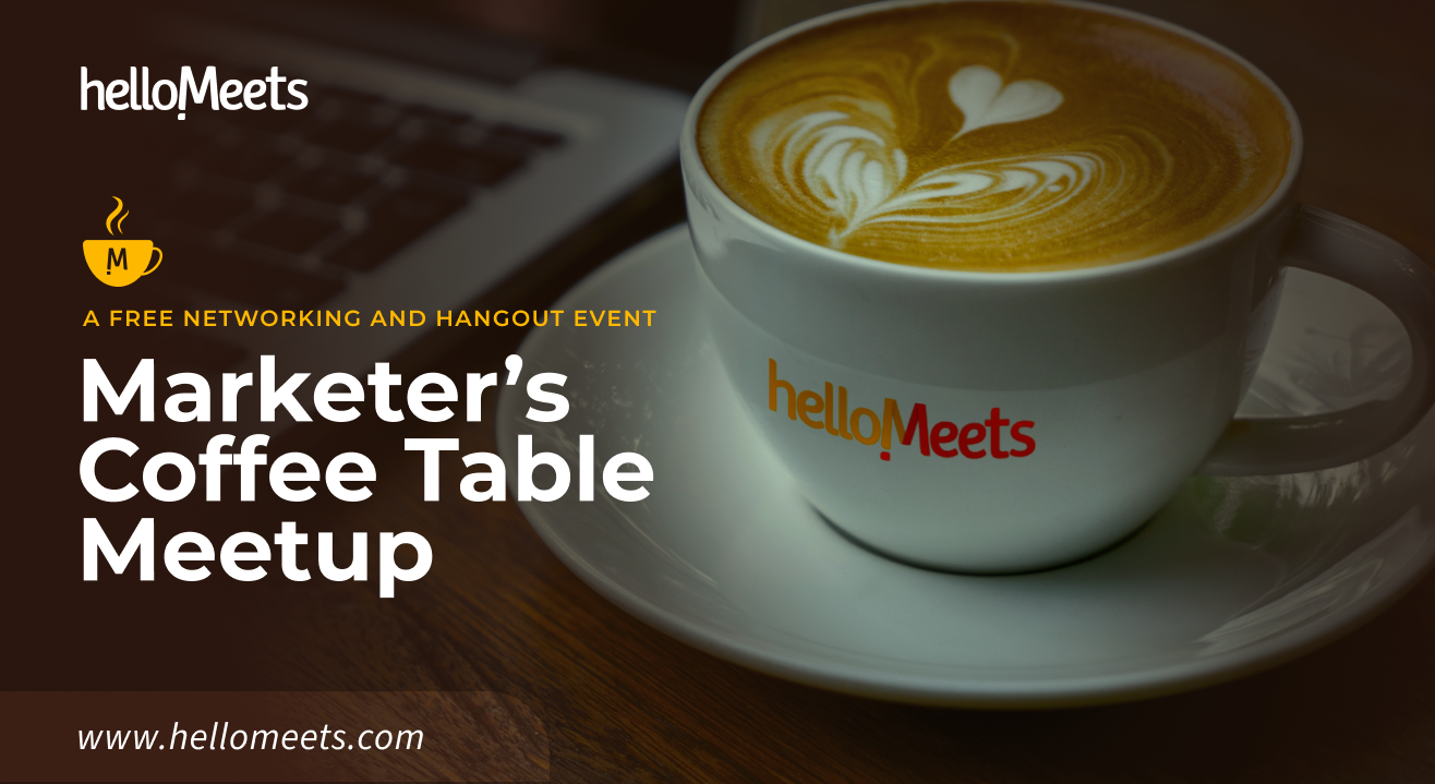 Marketers' Coffee Table Meetup