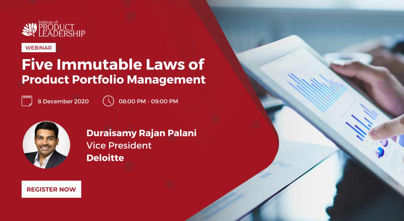 Five Immutable Laws of Product Portfolio Management