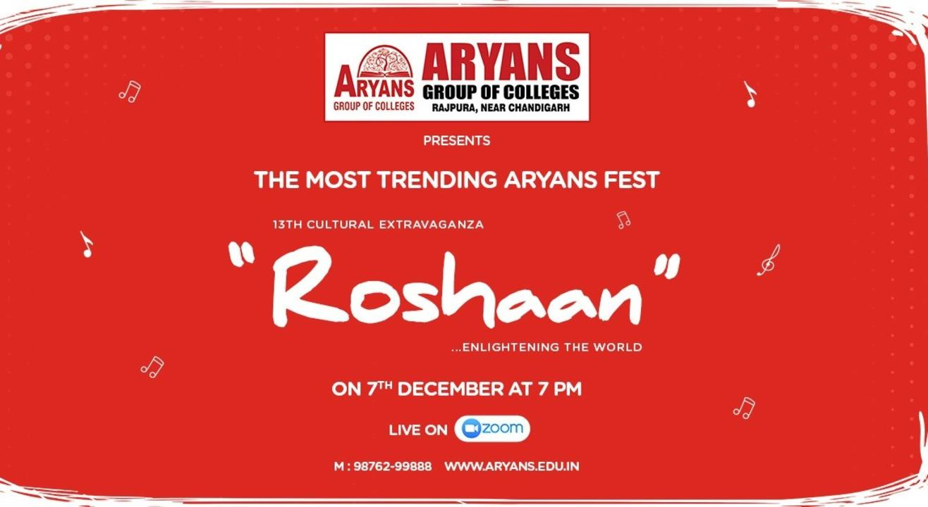 """13th Cultural Extravaganza """"ROSHAAN"""" by Aryans Group of Colleges"""