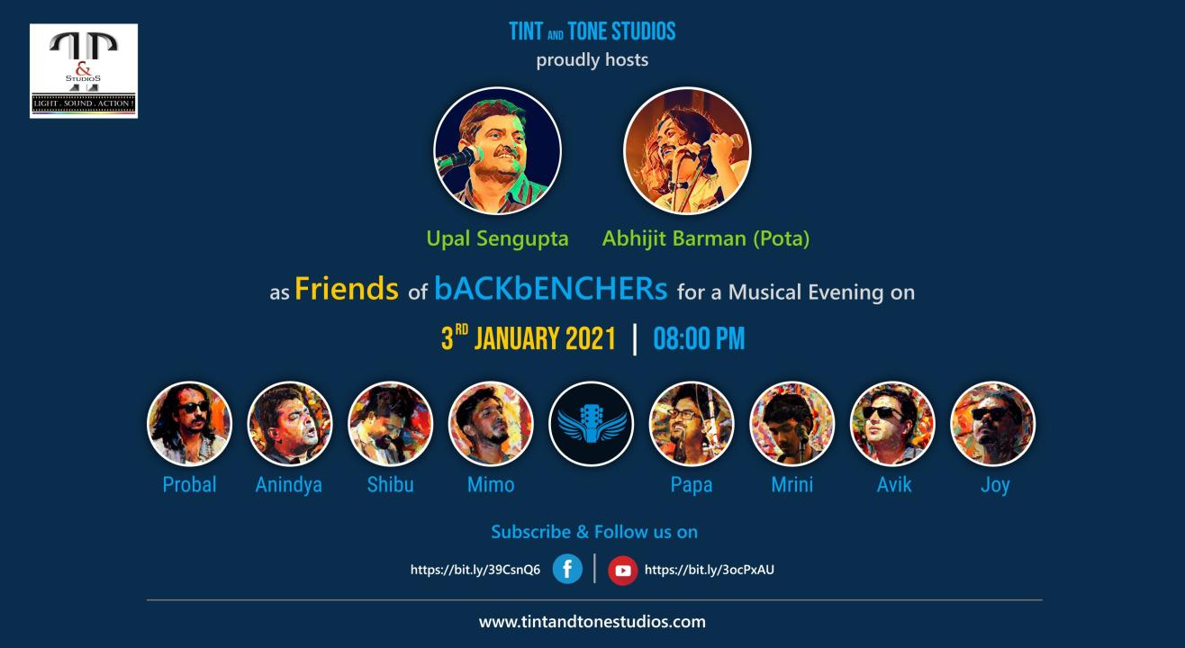 A Musical Evening with bACKbENCHERs and Friends