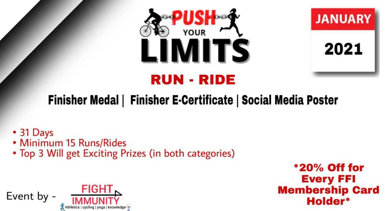 Push Your Limits - Run/Ride Challenge