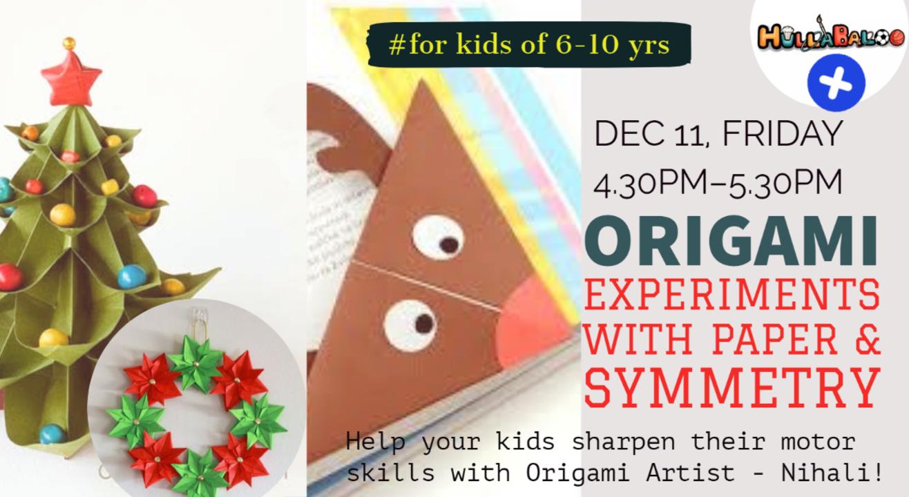 X-Mas Themed Origami !