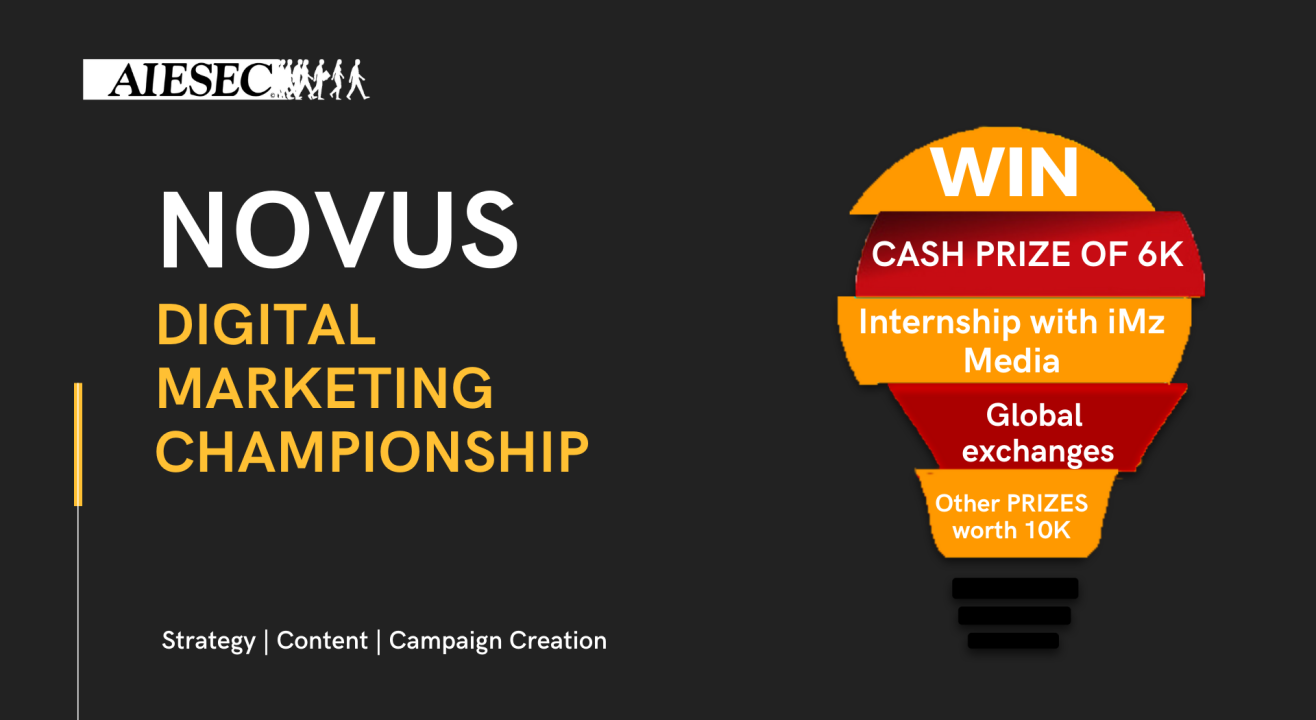 NOVUS - DIGITAL MARKETING CHAMPIONSHIP