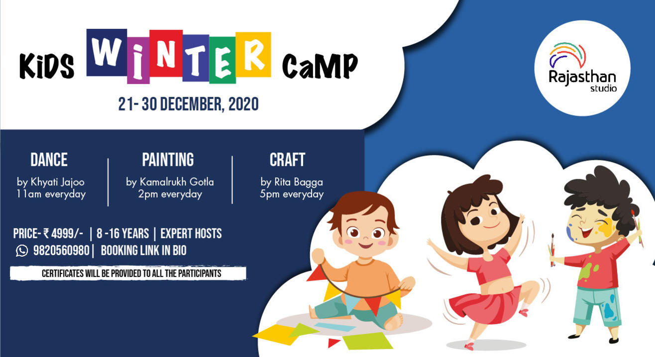 Kids Winter Camp By Rajasthan Studio