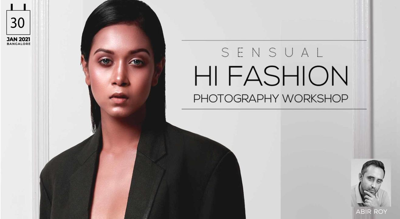 SENSUAL FASHION PHOTOGRAPHY WORKSHOP : BANGALORE