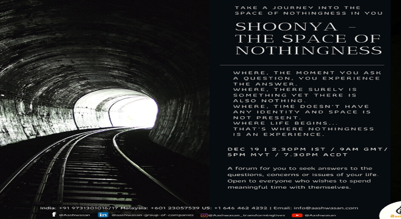 Shoonya The Space of Nothingness