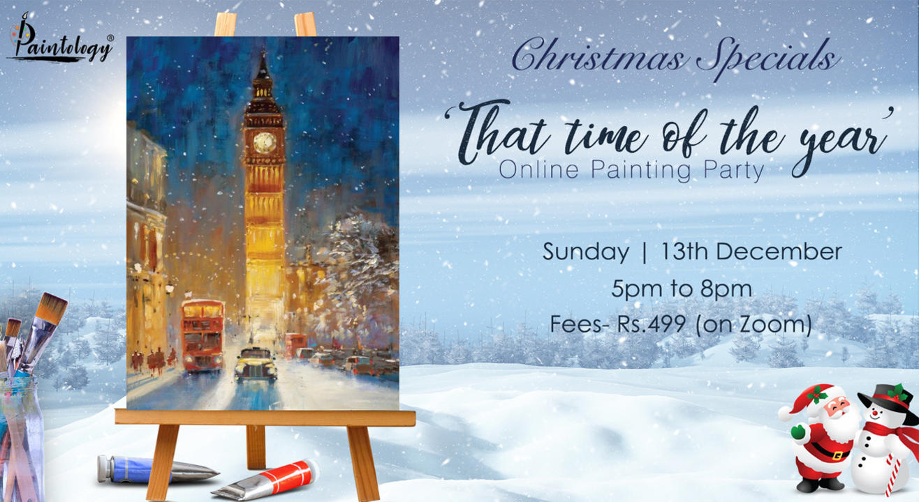 Christmas special , Painting party by Paintology