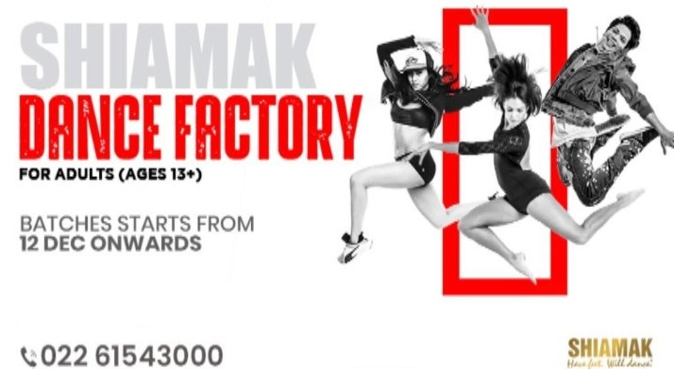 SHIAMAK Dance Factory - Adults' Batch (13 years & above)