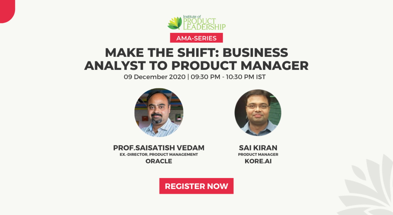Make the Shift: Business Analyst to Product Manager