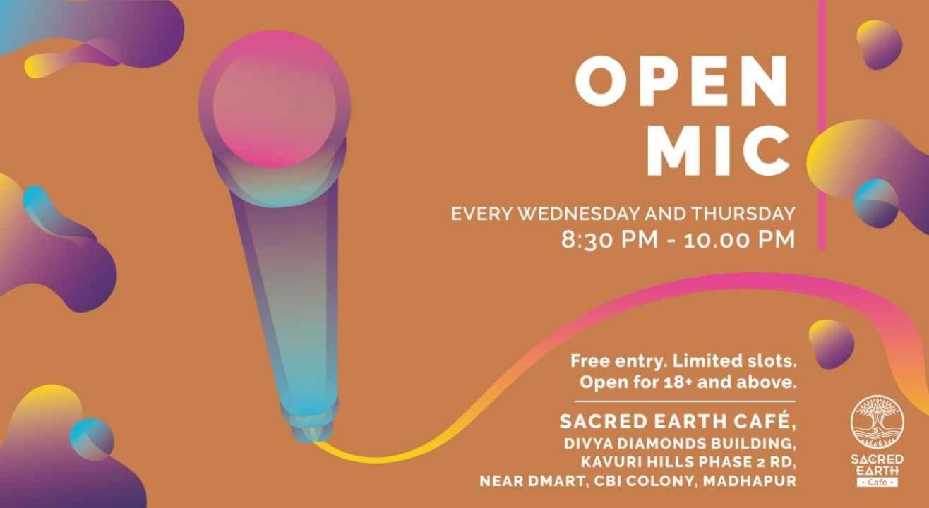 Open Mic @ Sacred Earth Cafe