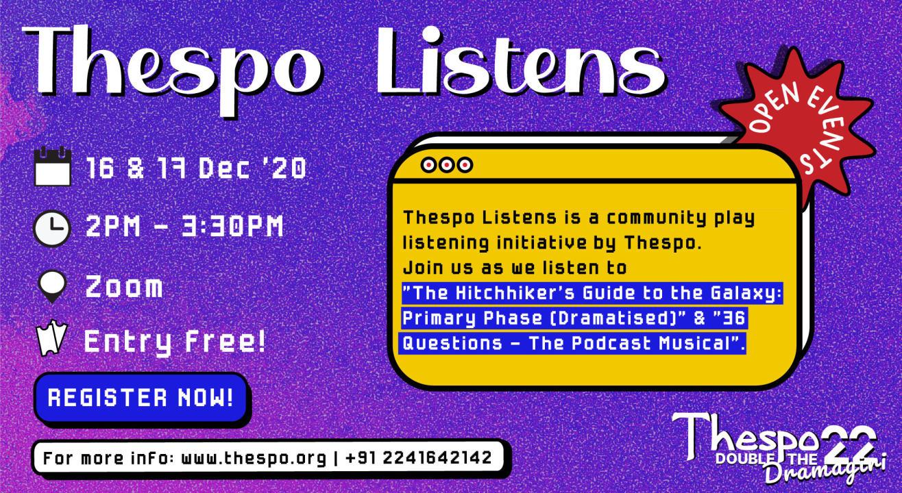 Thespo Listens
