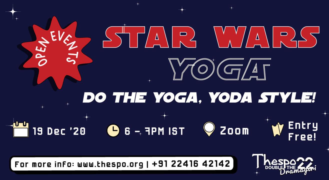Thespo 22: Star Wars Yoga