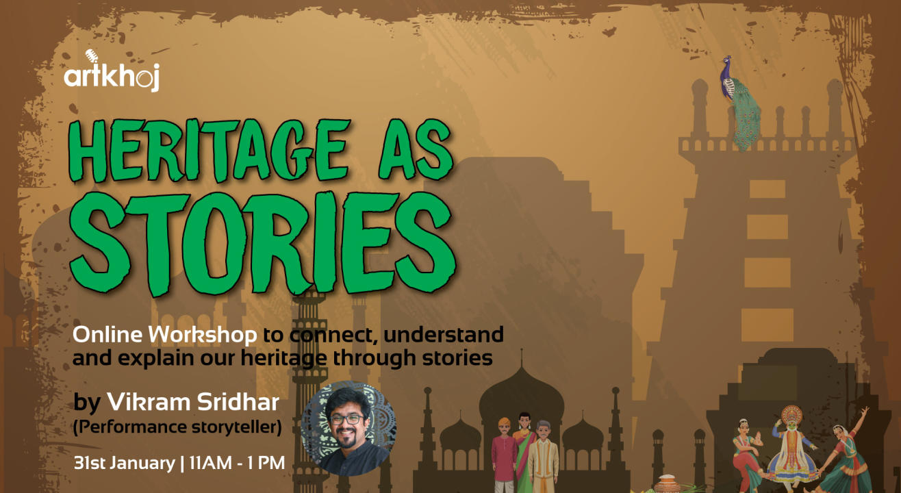 Heritage as Stories - An Online Workshop