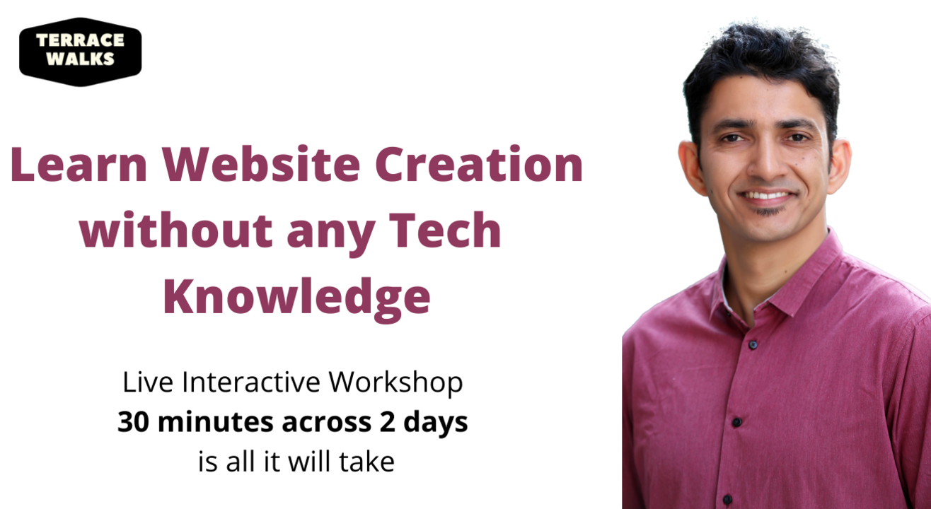 Learn Website Creation without any Tech Knowledge